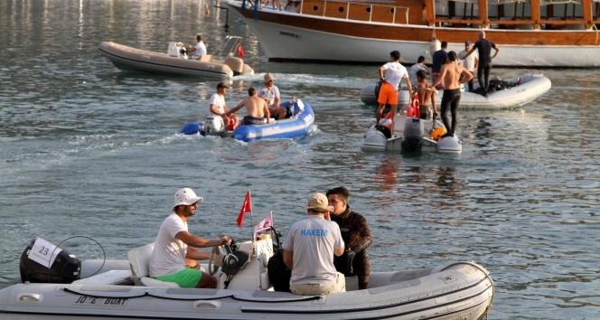 Zıpkınla balık avı Türkiye Şampiyonası son  buldu
