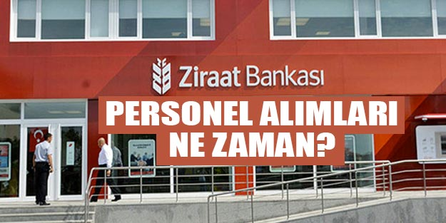 Ziraat Bankası alımları 2019 başvuru şartları neler?