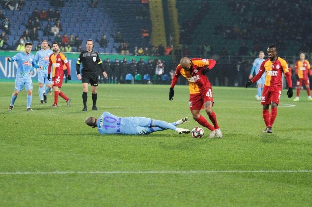 Ziraat Türkiye Kupası: Çaykur Rizespor: 1 - Galatasaray: 1 (İlk yarı)