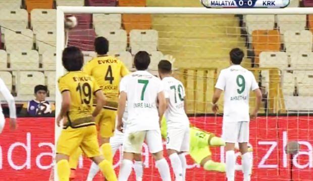 Ziraat Türkiye Kupası maçında skandal hata!