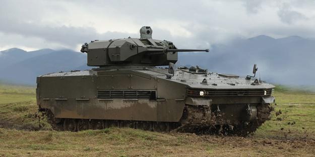 Zırhlı muharebe aracı Tulpar seri imalata hazır!