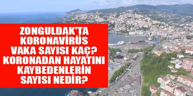 Zonguldak'ta koronavirüsten kaç kişi öldü? Zonguldak Koronavirüsten ölenlerin sayısı kaç oldu?