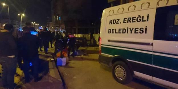Zonguldak'ta pat pat faciası