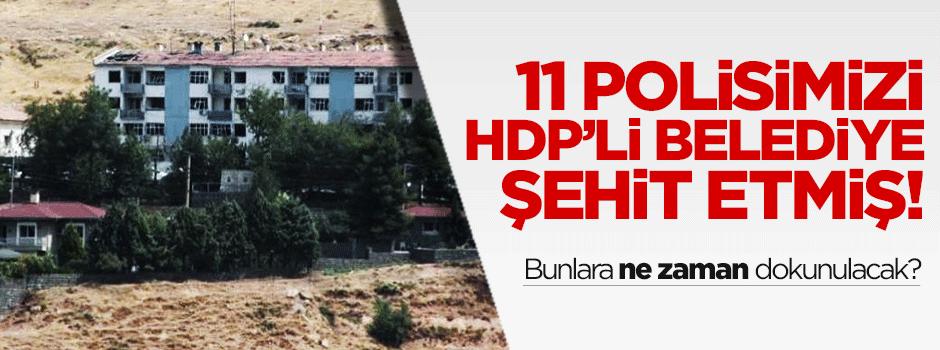 HDP'li belediyenin katliamı!