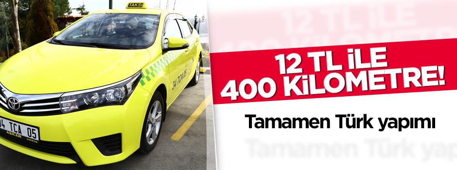 12 TL ile 400 kilometre yol gidiyor!