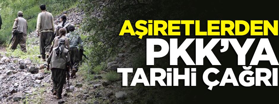 120 aşiretten PKK'ya tarihi çağrı!