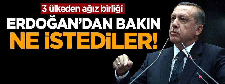 3 ülkeden Türkiye'ye karşı ağız birliği!