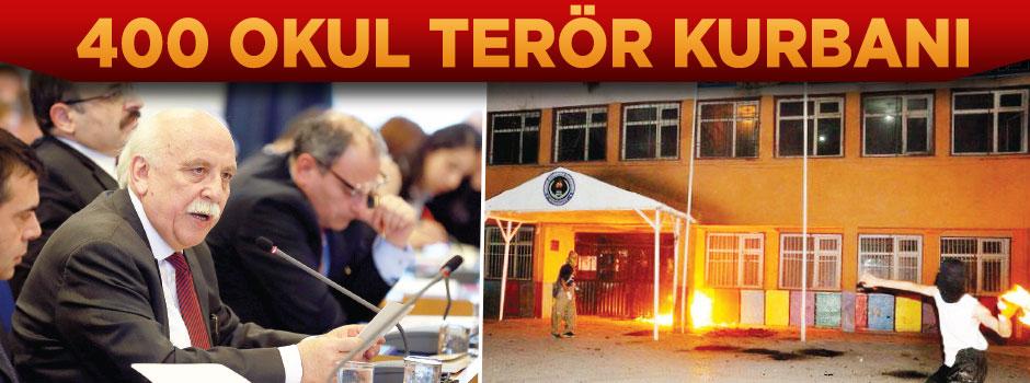 400 Okul terör kurbanı