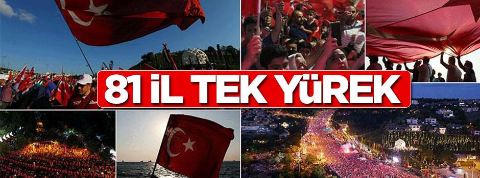 Bir sevdadır 'Türkiye'm..