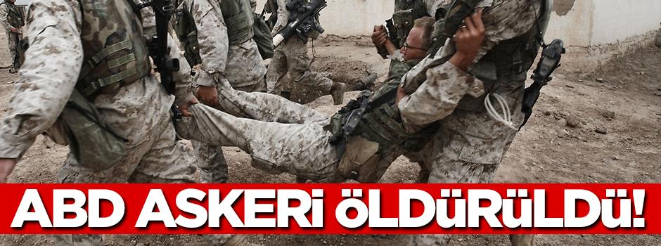ABD askeri öldürüldü!