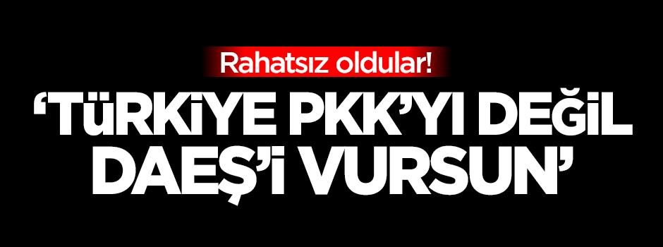 ABD: Türkiye PKK'yı değil DAEŞ'i vursun
