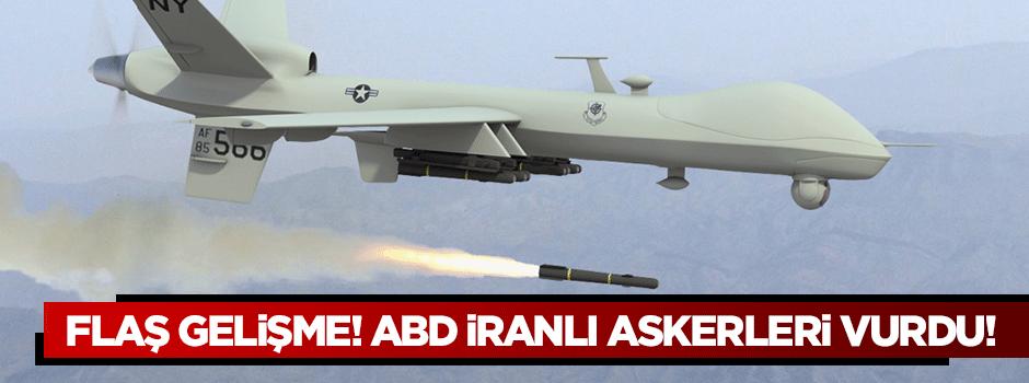 Flaş gelişme! ABD İranlı askerleri vurdu!