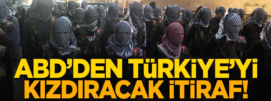 ABD'den Türkiye'yi kızdıracak itiraf!