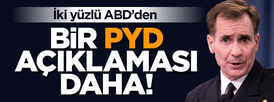 ABD'den bir skandal PYD açıklaması daha!