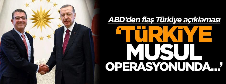 ABD'den flaş Türkiye açıklaması: Türkiye de olmalı