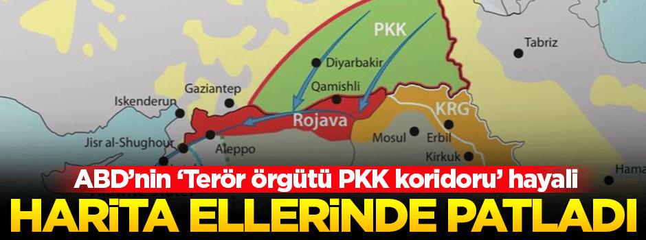 ABD'nin 'PKK koridoru' elinde patladı