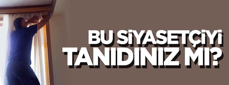 Abdullah Gül perde takarken fotoğraflandı