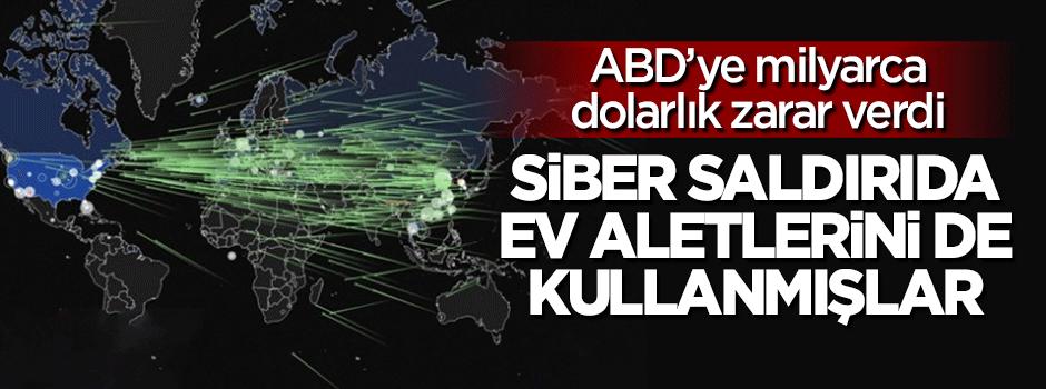 ABD'ye yapılan siber saldırıda ev aletleri de kullanılmış