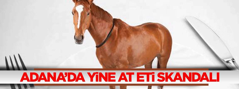 Adana'da at eti skandalı!