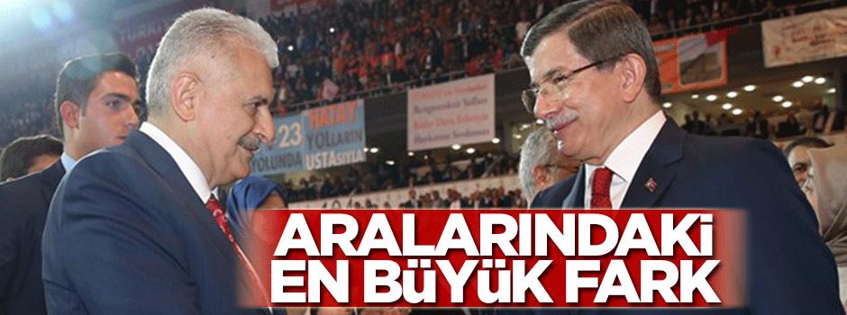 Ahmet Davutoğlu ve Binali Yıldırım arasındaki fark