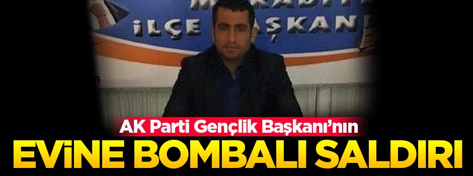 AK Parti Gençlik Kolları Başkanı'na bombalı saldırı