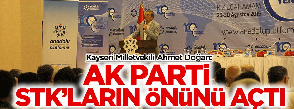 AK Parti STK'ların önünü açtı