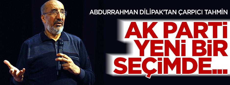 AK Parti yeni bir seçimde ne yapar?
