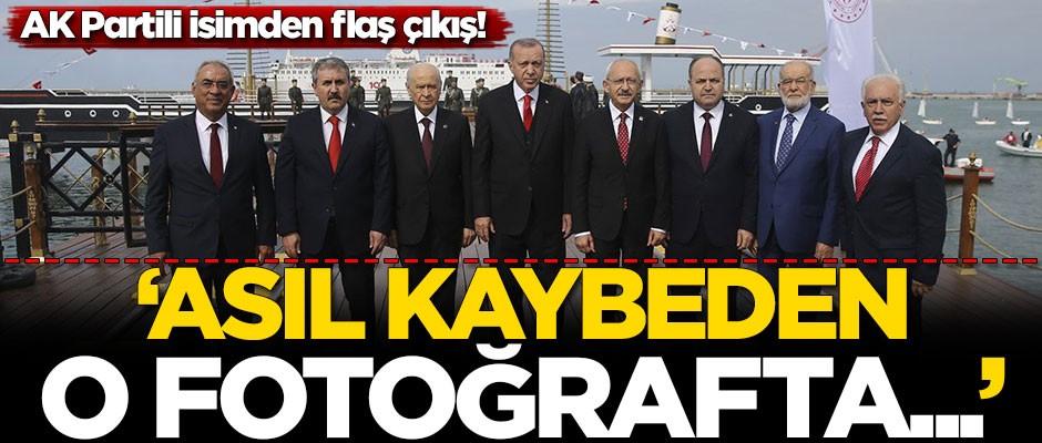 AK Partili isimden flaş çıkış: Asıl kaybeden o fotoğrafta...