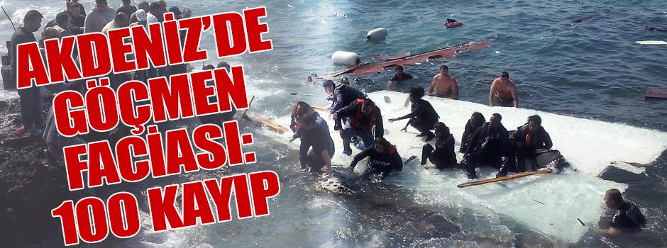 Akdeniz mültecilere mezar oluyor