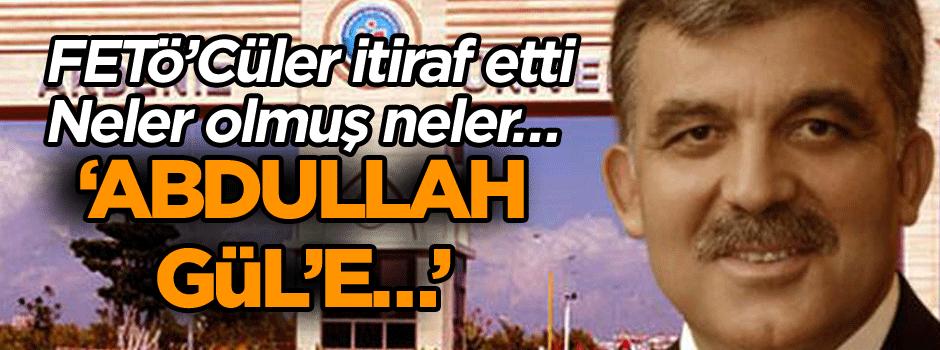 Akdeniz Üniversitesi'nde neler olmuş neler… 'Abdullah Gül'e…'