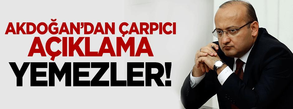 Akdoğan: Bu tamamen kandırmaca ve numara