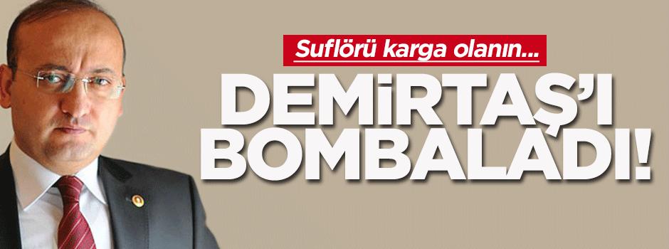 Akdoğan: Demirtaş gladyonun figüranı