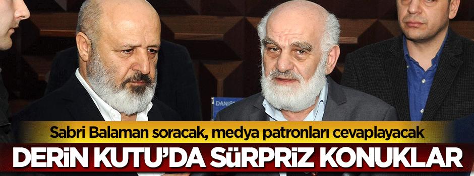 Mustafa Karahasanoğlu ve Ethem Sancak Derin Kutu'da