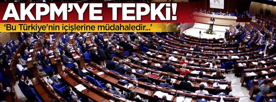 Bozdağ'dan AKPM'ye tepki!