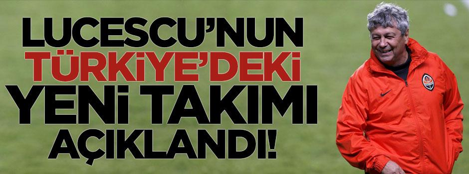 Lucescu'nın Türkiye'deki yeni takımını açıkladı