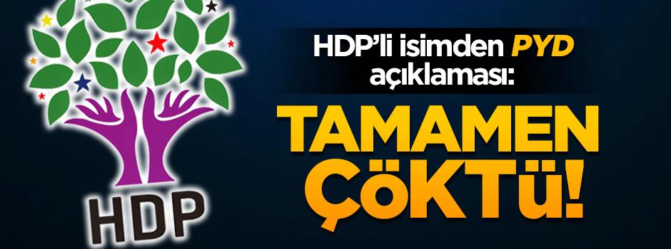 HDP'li Altan Tan'dan PYD açıklaması