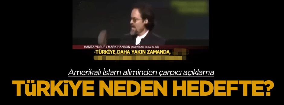 Amerikalı İslam aliminden çarpıcı 'Türkiye' açıklaması