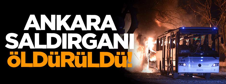 Ankara saldırısının faili Lice'de öldürüldü