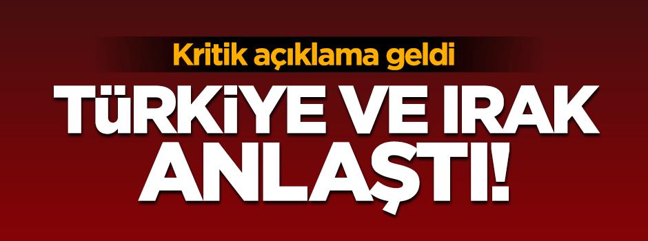Türkiye ve Bağdat yönetimi Musul için anlaştı