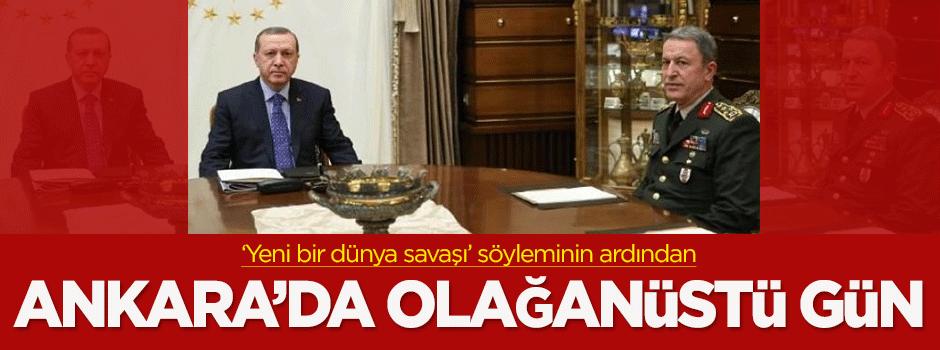 Ankara'da olağanüstü gün