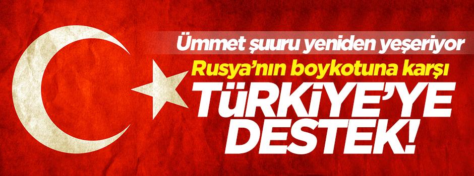 Arap dünyasından Türkiye'ye destek!