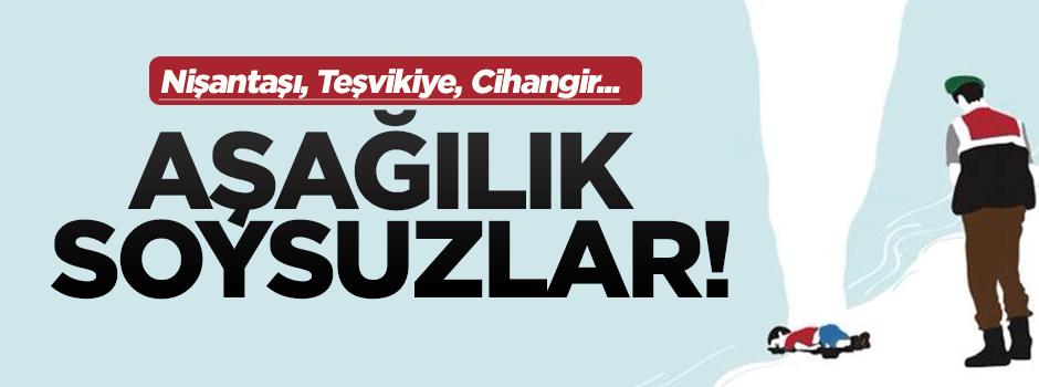 'Aşağılık soysuz, şimdi kastır sen duyarını'