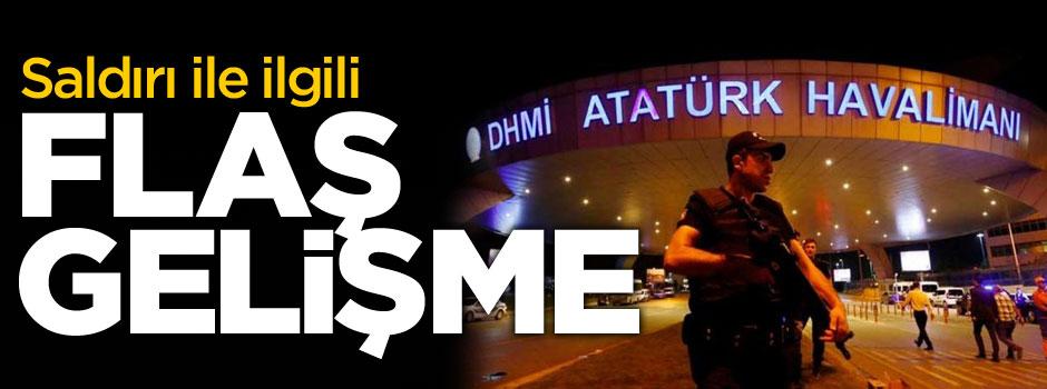 Atatürk Havalimanı saldırısında yeni gelişme