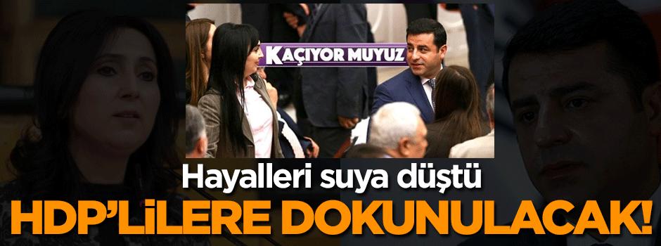 Demirtaş'ın AYM hayali suya düştü!