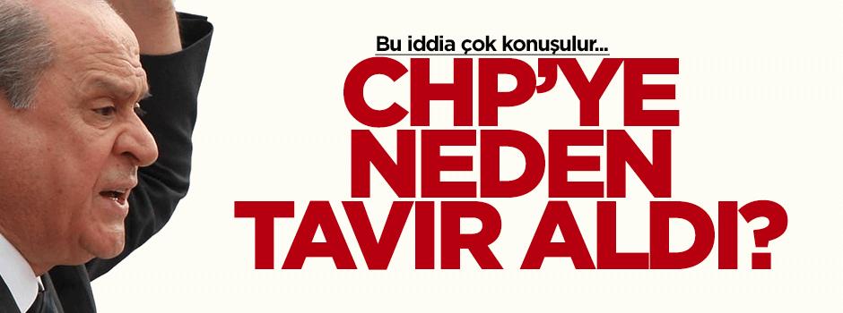 Bahçeli neden CHP'ye tavır aldı?
