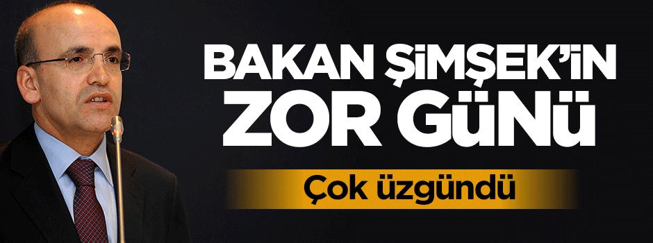 Bakan Mehmet Şimşek'in zor günü