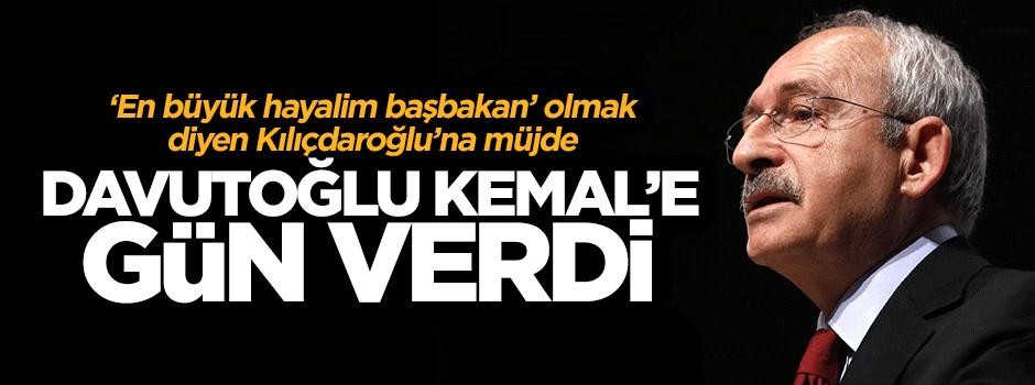 Davutoğlu, Kılıçdaroğlu'nu 'gel başbakan ol' çağrısı