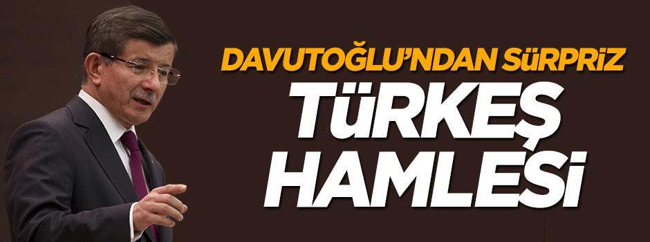 Davutoğlu'ndan Türkeş hamlesi