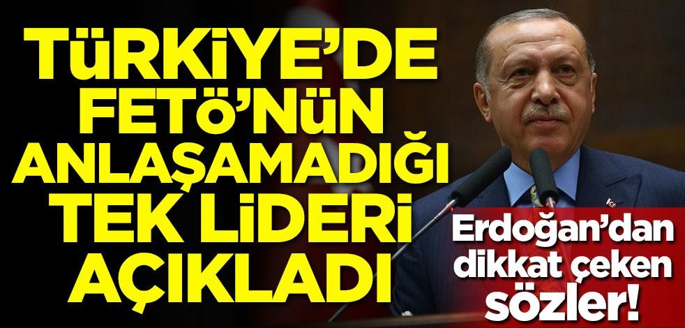 Başkan Erdoğan: FETÖ'nün anlaşamadığı tek lider Erbakan Hoca'mızdır