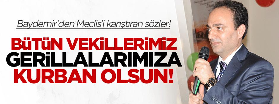 'Vekillerimiz gerillalarımıza kurban olsun!'